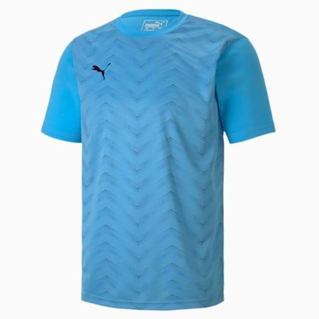 ftblNXT Graphic Men's Core Football Tee, Luminous Blue-Puma Black, small-SEA