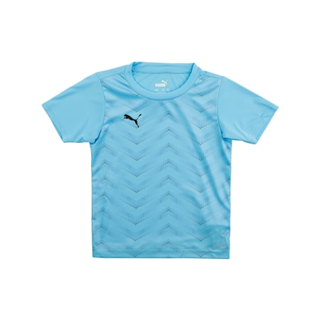 ftblNXT Graphic Shirt Core J, Luminous Blue-Puma Black, small-IND