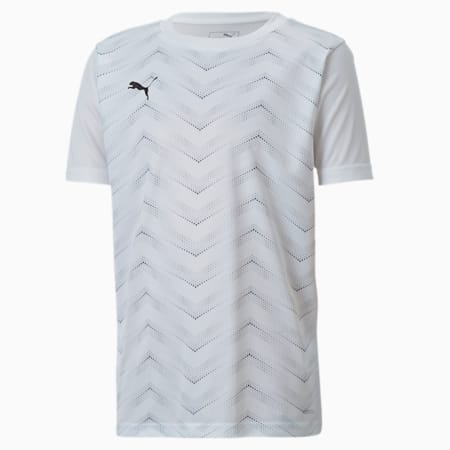 ftblNXT Graphic Shirt Core J, Puma White-Puma Black, small-IND