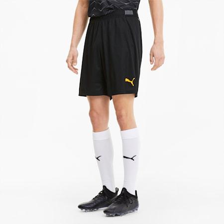 ftblNXT-shorts til mænd, Puma Black-ULTRA YELLOW, small