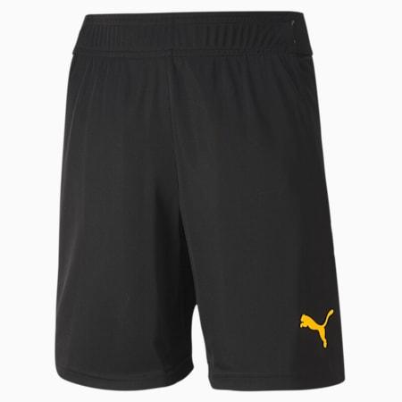 ftblNXT Kinder Fußball Shorts, Puma Black-ULTRA YELLOW, small