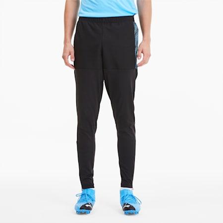 Pantalones fbtlNXTPro para hombre, Puma Black-Luminous Blue, pequeño