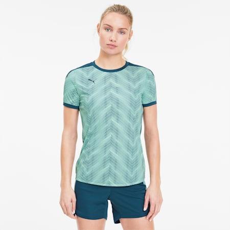 Damska koszulka piłkarska ftblNXT Graphic, Dark Denim-Mist Green, small