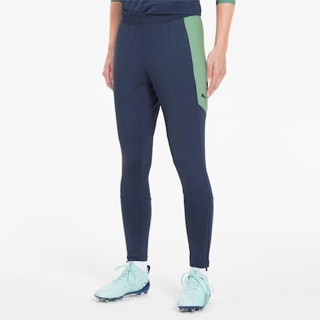 ftblNXT Women's Sweatpants, Dark Denim-Mist Green, small
