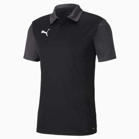 GOAL Sideline Men's Polo, Puma Black-Asphalt, small-SEA