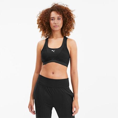 Soutien-gorge de sport Studio Lace Strappy pour femme, Puma Black, small