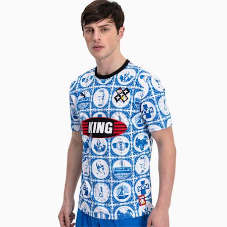 Maglia da calcio AMSTERDAM a maniche corte in jersey uomo, Puma Royal, small