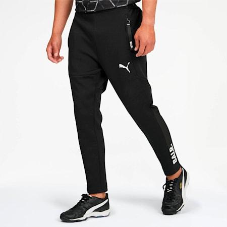 PUMA x BALR. Men's Sweatpants, Puma Black-Puma White, small