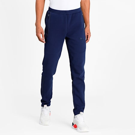 teamCUP Casuals Slim Fit Men's Football Pants, Peacoat, small-IND