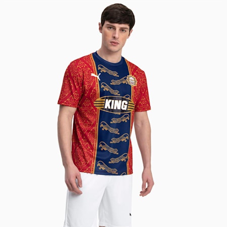 Bangkok Men's Jersey, Chili Pepper-Puma New Navy, small