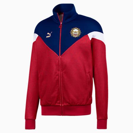 Bangkok Men's Track Jacket, Chili Pepper-Puma New Navy, small
