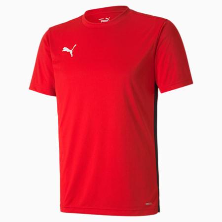 ftblPLAY Men's Shirt, Puma Red-Puma Black, small-SEA