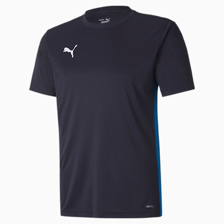 ftblPLAY Men's Shirt, Puma New Navy-Electric Blue Lemonade, small-SEA