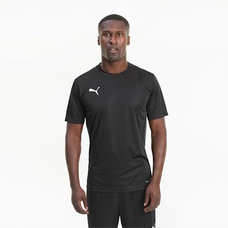 Męski T-shirt ftblPLAY, Puma Black-Asphalt, small