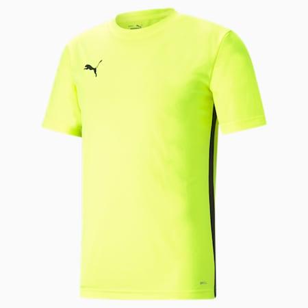 ftblPLAY Men's Shirt, Yellow Alert-Puma Black, small-GBR