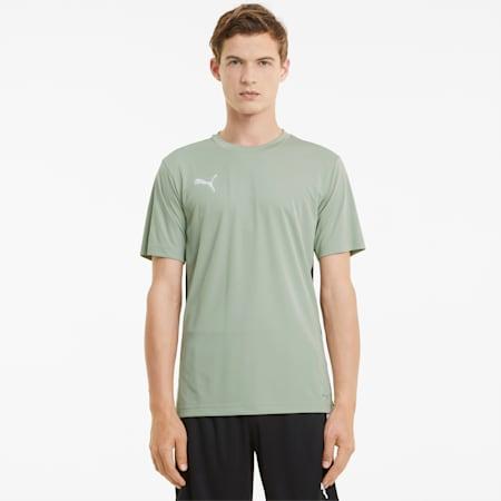 Męski T-shirt ftblPLAY, Desert Sage-Puma Black, small