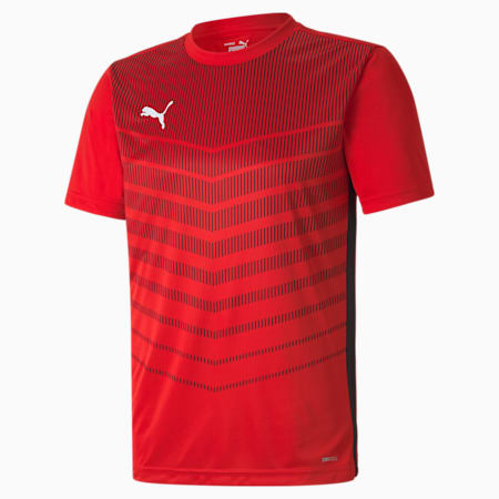 Maillot ftblPLAY Graphic pour homme, Puma Red-Puma Black, small