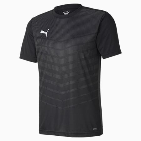 ftblPLAY Graphic Men's Shirt, Puma Black-Asphalt, small-GBR