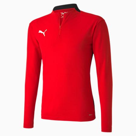 ftblPLAY Quarter Zip Men's Top, Puma Red-Puma Black, small