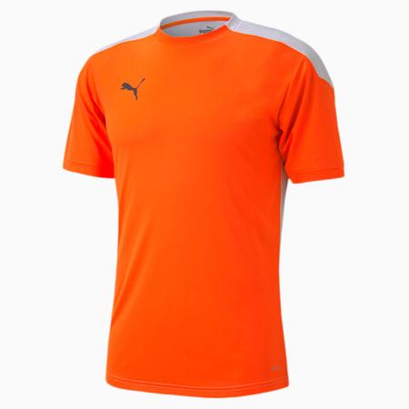 ftblNXT Men's Football Jersey, Shocking Orange-Puma White, small-SEA