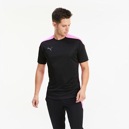 Męska koszulka piłkarska ftblNXT, Puma Black-Luminous Pink, small