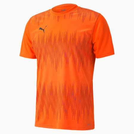 ftblNXT Graphic Herren Trikot, Shocking Orange-Asphalt, small