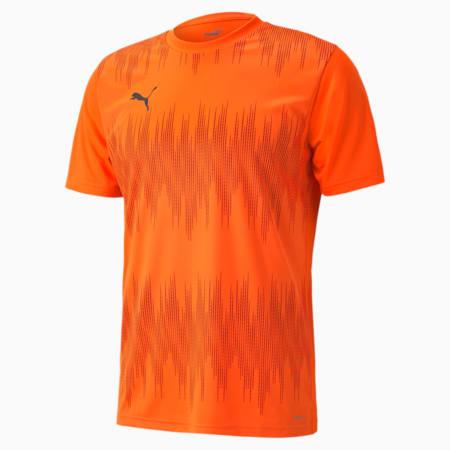 ftblNXT Core Men's Graphic Jersey, Shocking Orange-Asphalt, small