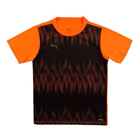 ftblNXT Kid's Football Jersey, Shocking Orange-Asphalt, small-IND