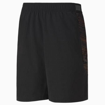 ftblNXT Pro Men's Shorts, Puma Black-Shocking Orange, small-IND