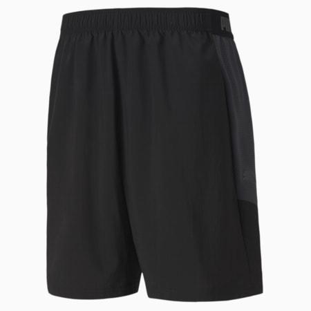 ftblNXT Woven Men's Shorts, Puma Black-Asphalt, small-SEA