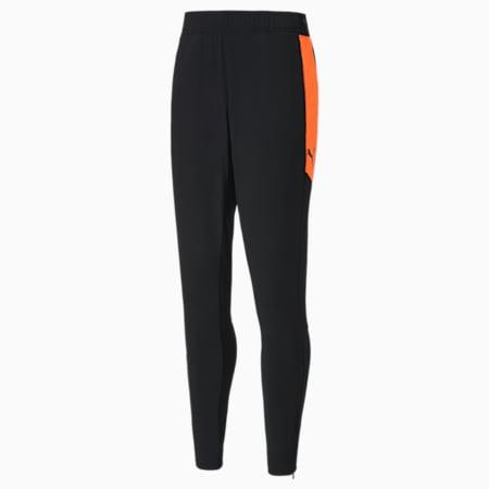 풋볼 넥스트 팬츠/ftblNXT Pant, Puma Black-Shocking Orange, small-KOR