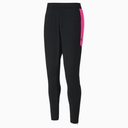 풋볼 넥스트 팬츠/ftblNXT Pant, Puma Black-Luminous Pink, small-KOR