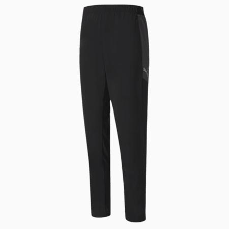 ftblNXT Woven Men's Pants, Puma Black-Asphalt, small-SEA