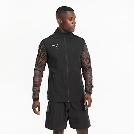 Blouson de football ftblNXT Pro homme, Puma Black-Shocking Orange, small