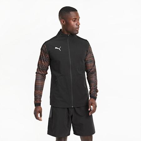 ftblNXT Pro voetbaljack voor heren, Puma Black-Shocking Orange, small