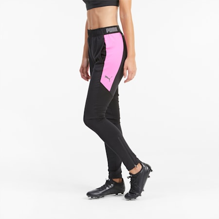Pantalon de survêtement de foot ftblNXT pour femme, Puma Black-Luminous Pink, small