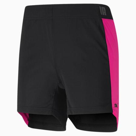 ftblNXT Women's Shorts, Puma Black-Luminous Pink, small