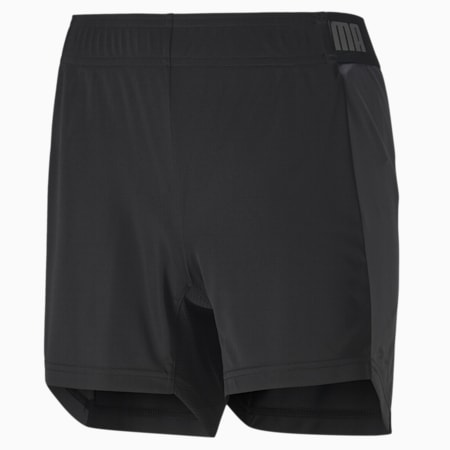 Shorts de fútbol ftblNXT para mujer, Puma Black-Asphalt, small