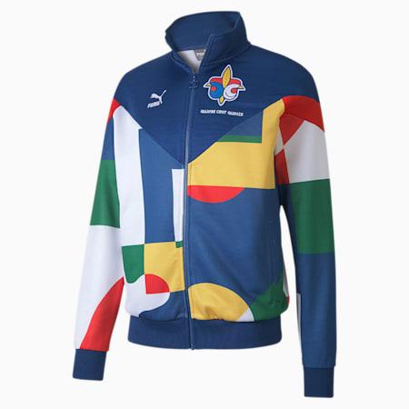 Track jacket France da uomo, Limoges-Puma White, small