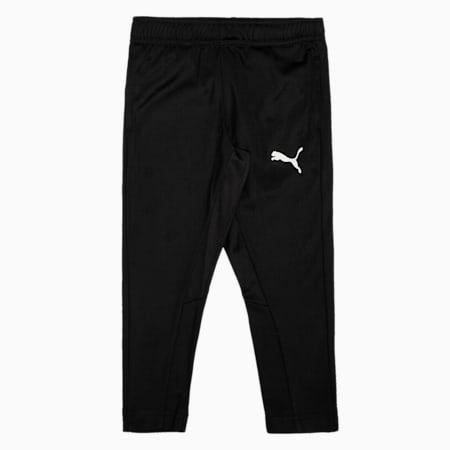 ftblPLAY Youth Football Training Sweatpants, Puma Black, small-IND