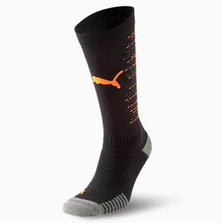 Team ftblNXT 양말/Team ftblNXT Socks, Puma Black-Shocking Orange, small-KOR