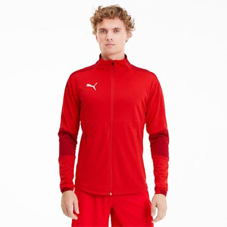 TEAMFINAL21 サッカー トレーニング ジャケット, Puma Red-Chili Pepper, small-JPN