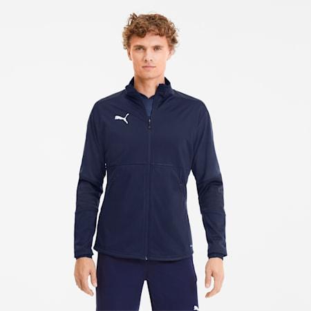 TEAMFINAL21 サッカー トレーニング ジャケット, Peacoat-Puma New Navy, small-JPN