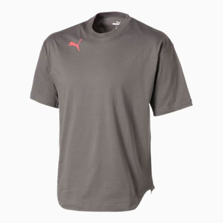 FTBLNXT ハイブリッド 半袖 ロゴ Tシャツ, CASTLEROCK, small-JPN