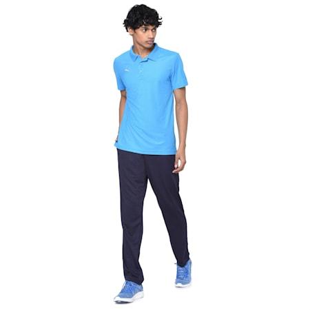 Match Kit Men's Polo T-shirt, Bleu Azur, small-IND