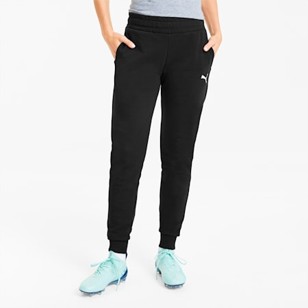 teamGOAL 23 Casuals Women's Football Pants, Puma Black, small-IND