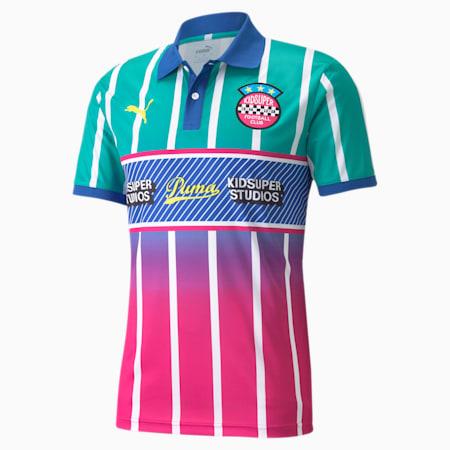 Męska koszulka sportowa PUMA x KIDSUPER, Spectra Green, small