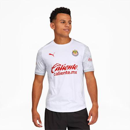 Chivas 20-21 Men's Training Jersey, Puma White, small