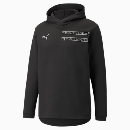 PUMA x BALR. Men's Hoodie, Puma Black, small