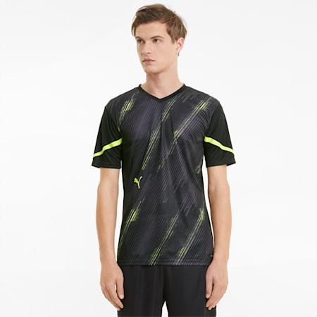 Camiseta de fútbol individualCUP para hombre, Puma Black-Yellow Alert, small